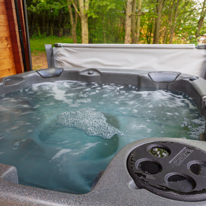 Private covered hot tubs