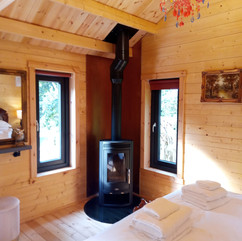 Owl Lodge log burner