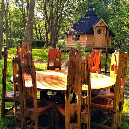 BBQ cabin for 2
