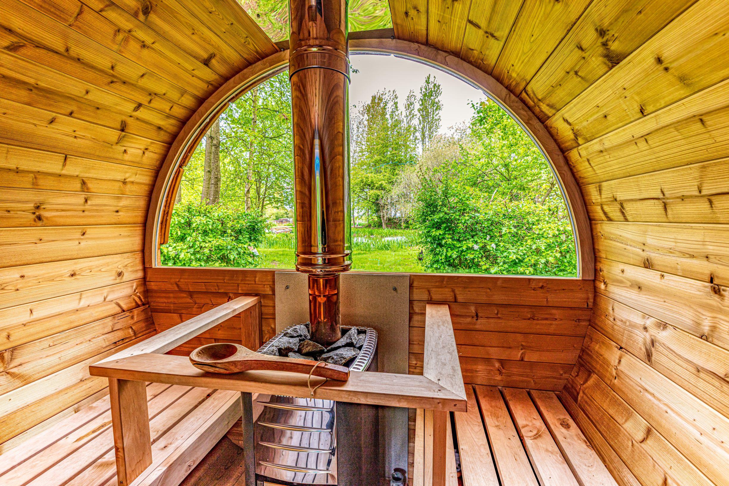 Sauna Cabin Session