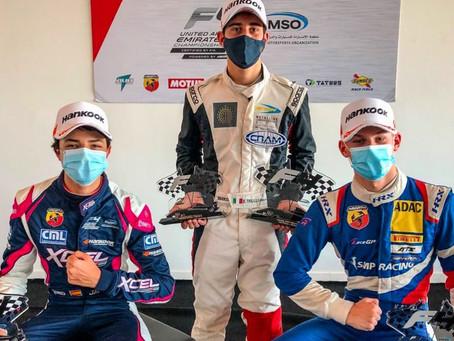 Pepe Martí suma un nuevo podio en la Formula 4 UAE