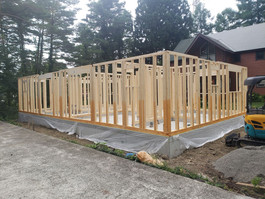 1st Floor Construction Completed