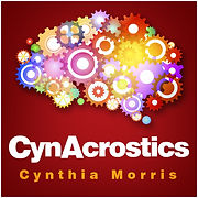 "CynAcrostics are challenging, contemporary puzzles guaranteed to get your ""cynapses"" firing!"