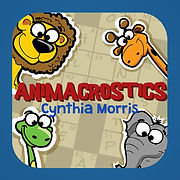 AnimaCrostics are easy, animal-themed puzzles for the young--and the young at heart...