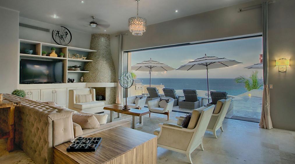 Villa Buena Vida Living Room View