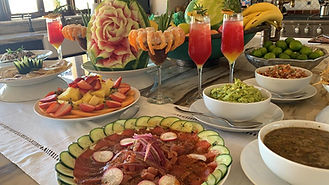 spread, welcome home experience, chef service cabo, Naay travel, experience designers, cabo villa rentals.
