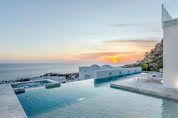villas in cabo, cabo villas, cabo luxury villas, naay travel, experience designers, bespoke cabo experiences, ocean, beach, infinity pool, private villa.