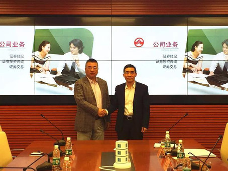 Sensegain signs strategic cooperation agreement with Dongxing Securities