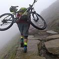 Mountain biking up and down snowdon at 5