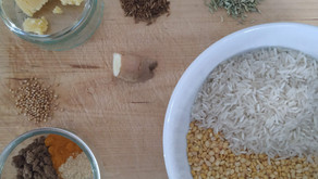 Recipe: Kitchari - tridoshic, healing, delicious!