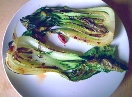HOLIDAY EDITION: Crispy Garlic Ginger Bok Choy