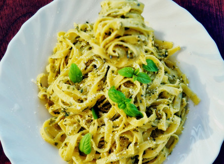 Avocado Pesto Palmini Linguine