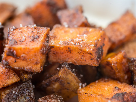 HOLIDAY EDITION: Cinnamon Pecan Sweet Potatoes