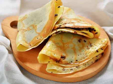 6 Ingredient / 5 Minute Crepes