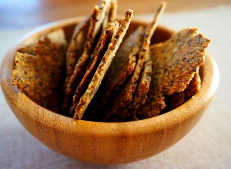 Addicting Sweet Potato Crackers