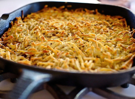 Jicama Hash Browns