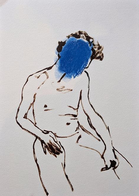 Blue mood A3