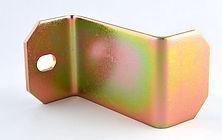 Découpe et pliage en acier avec placage