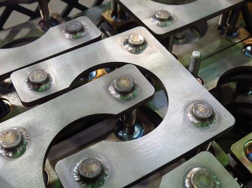 Assemblés-soudés en acier inoxydable