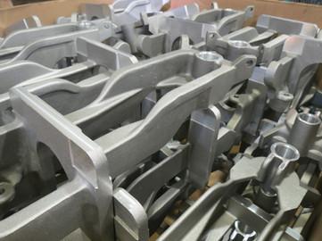 Usinage de castings en aluminium
