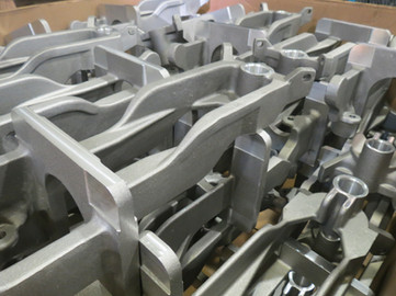 Usinage de castings en aluminium
