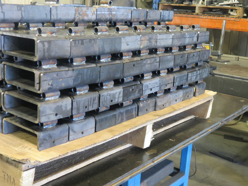 Soudage de pièces pliées en acier