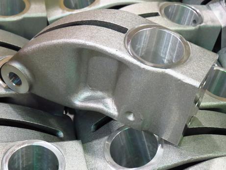 Usinage de casting en aluminium
