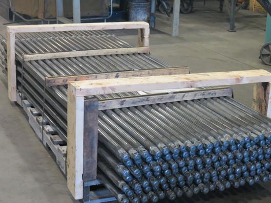 Soudage de pièces en acier
