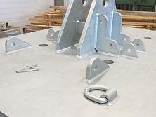 Soudage - Patte en acier galvanisé