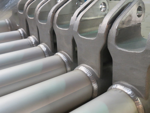 Soudage de lame électrique en aluminium