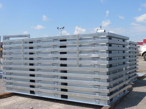 Soudage de système de rangement en acier galvanisé