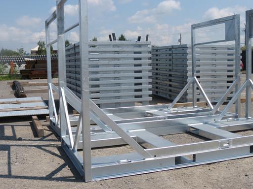 Soudage d'un système de rangement en acier galvanisé
