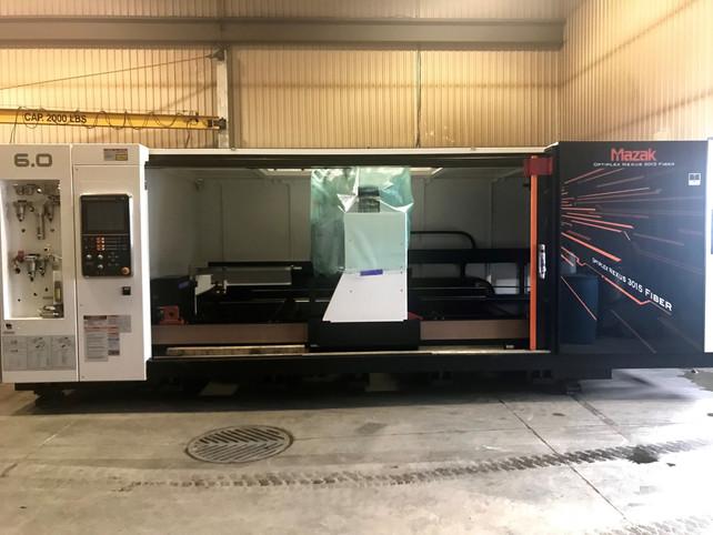 Nouveau laser Mazak Optiplex 3015 6KW