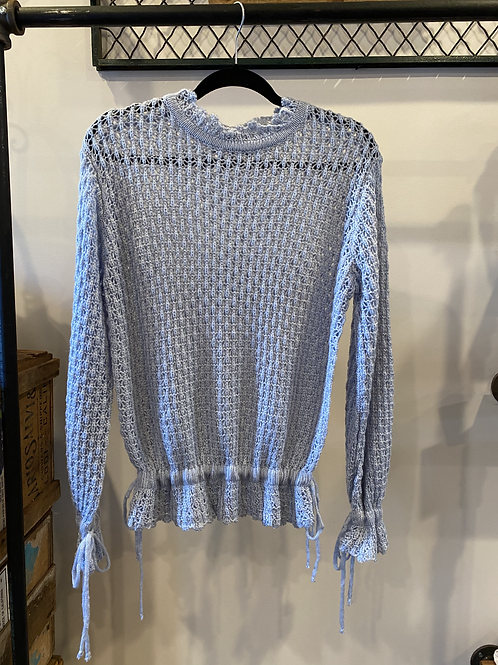 Brooklyn | Baby Blue Sweater