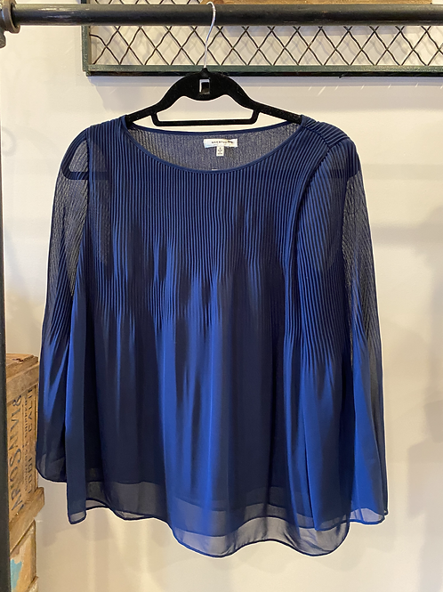 Max Studio | Navy Blue Blouse