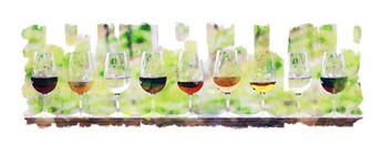 Lined up wine goblets.png