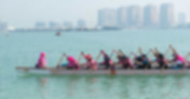 Doha Wireless Warriors Dragon Team for Cancer Survivors & Supporters