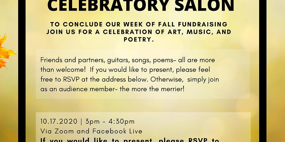Fall Fundraising Celebration Salon (virtual)