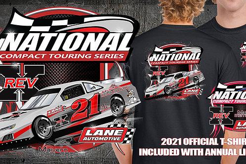 2021 National Compact Touring Series Tshirt