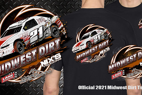 Official Midwest Dirt Tshirt