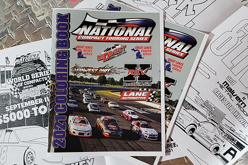2021 National Compact Touring Series Coloring Book