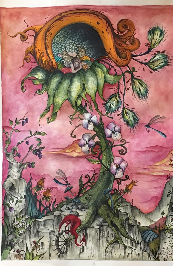 Artwork for Sale - The Pride Fairy one of the Seven Deadly Sins