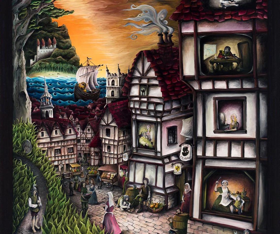 Artwork for Sale - Dick Whittington