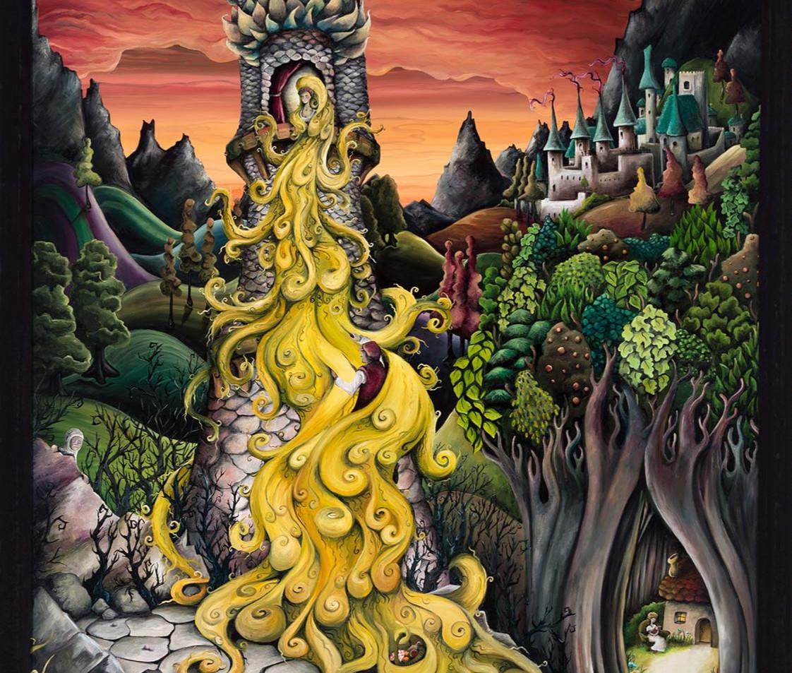 Artwork for Sale - Rapunzel the Fairy Tale