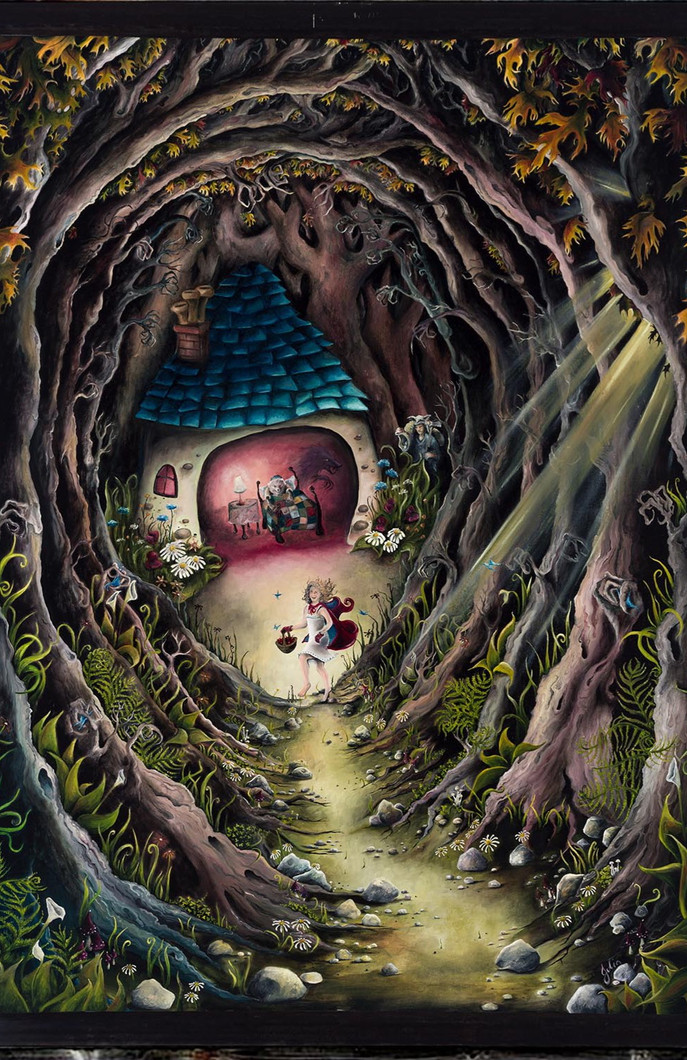 Artwork for Sale - Little Red Riding Hood