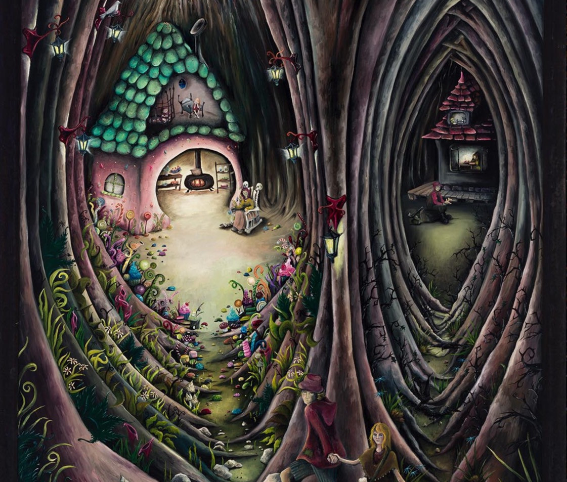 Artwork for Sale  - Hansel and Gretel