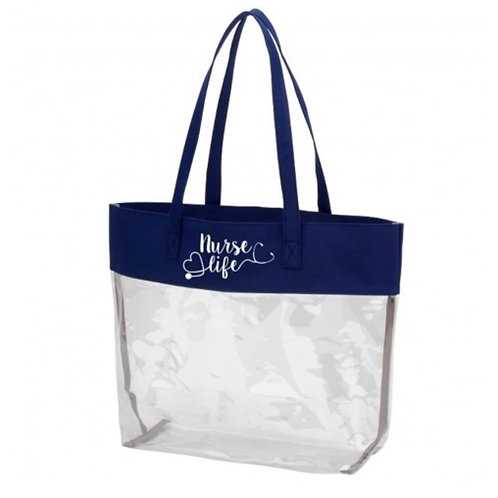 Clear Nurselife Tote