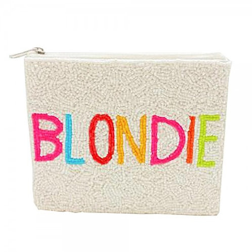 Beaded Blondie Coin Purse