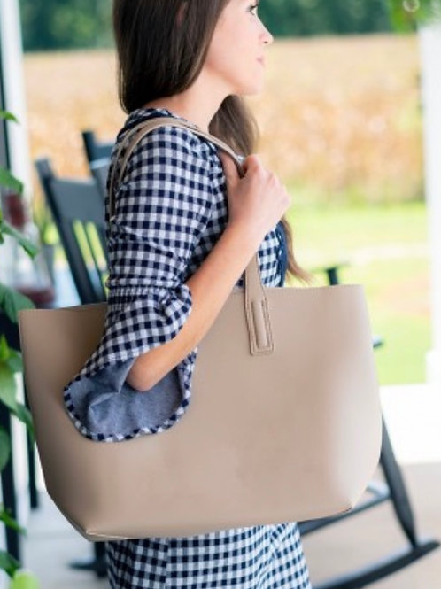 Carly Tote Taupe