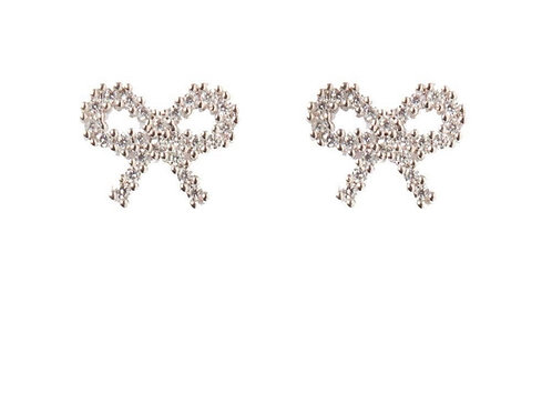Lily Bow Earrings
